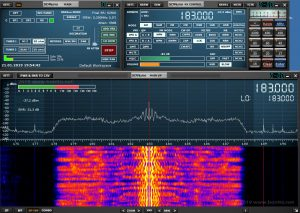 SDRplay RSPduo Antennentest von Bonito