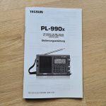 Tecsun PL-990x deutsche Anleitung bei Bonito