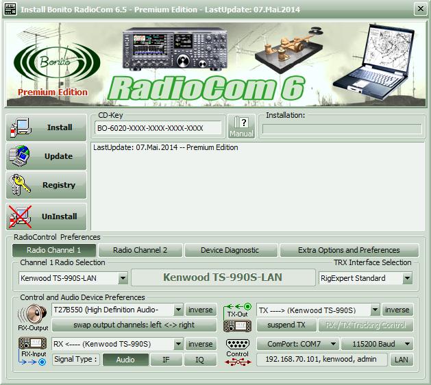 Bonito Radiocom 6 5 Manual En Index