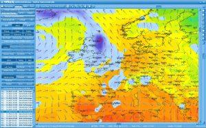 Einfache meteorologische Software für den Wassersport oder Berufsschifffart