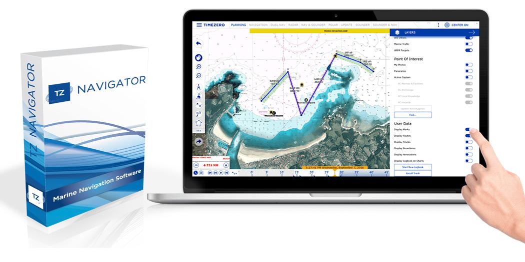MaxSea TZ v3 Navigator Die unkomplizierteste Navigationssoftware!