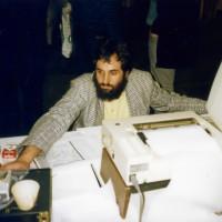Bonito auf der Interradio 1989 Helmut Fischer