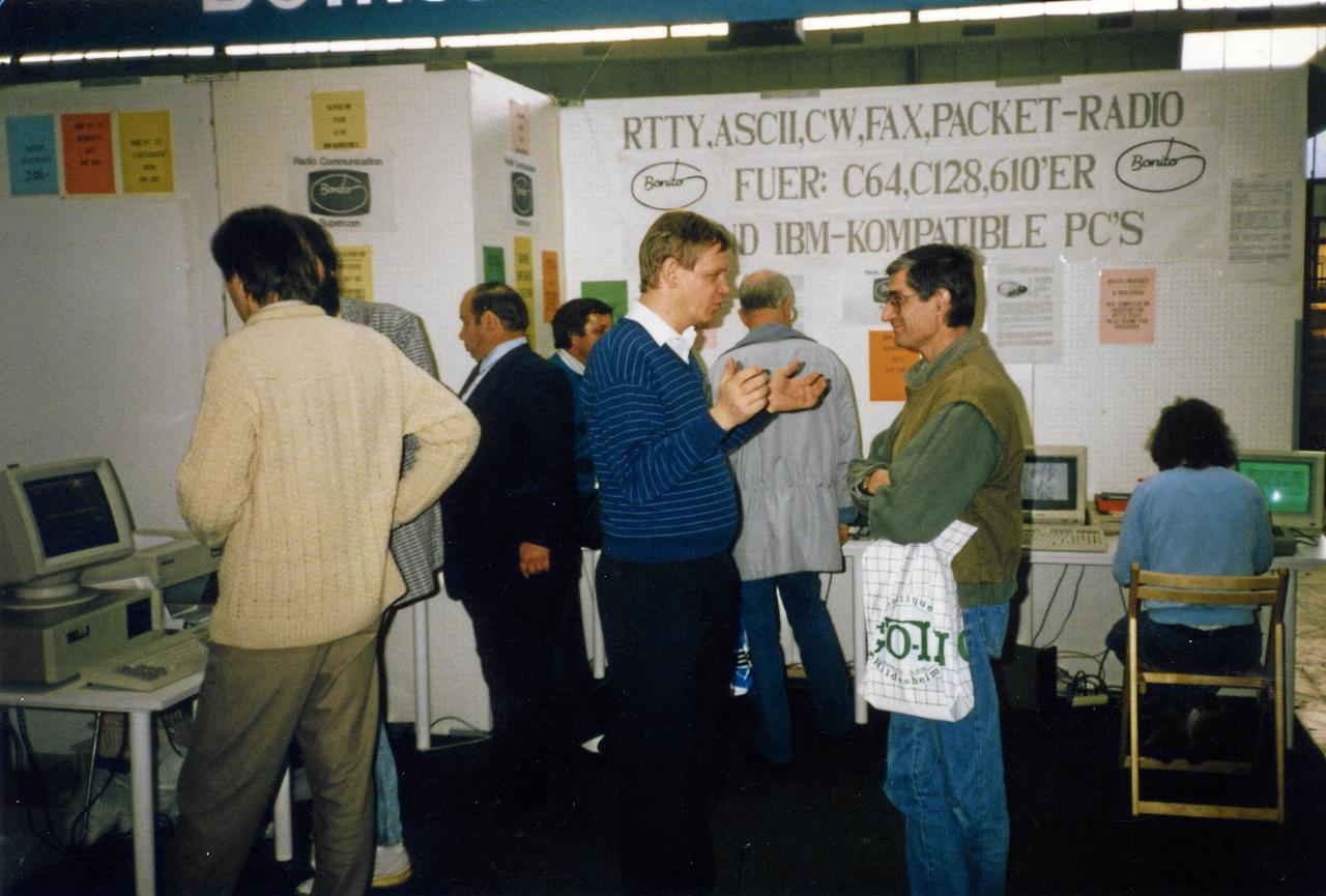Bonito at the Interradio 89 Peter Walter
