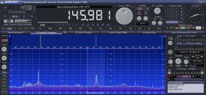 Spektrum mit H155 Koaxialkabel