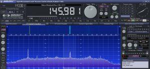 Spektrum mit RG58 Koaxialkabel
