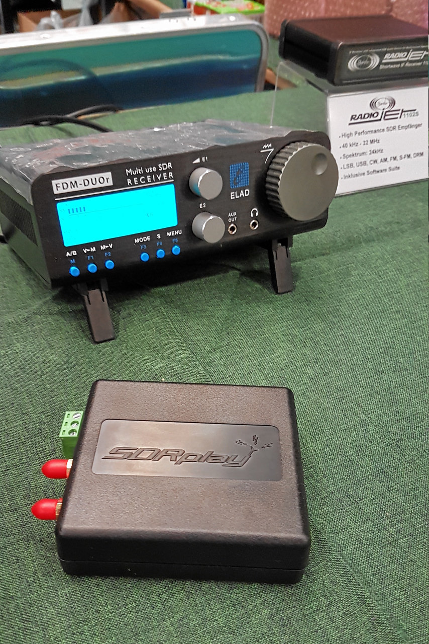 SDRPlay 2 RSP2, FDM-DUOr, Bonito RadioJet 1102S