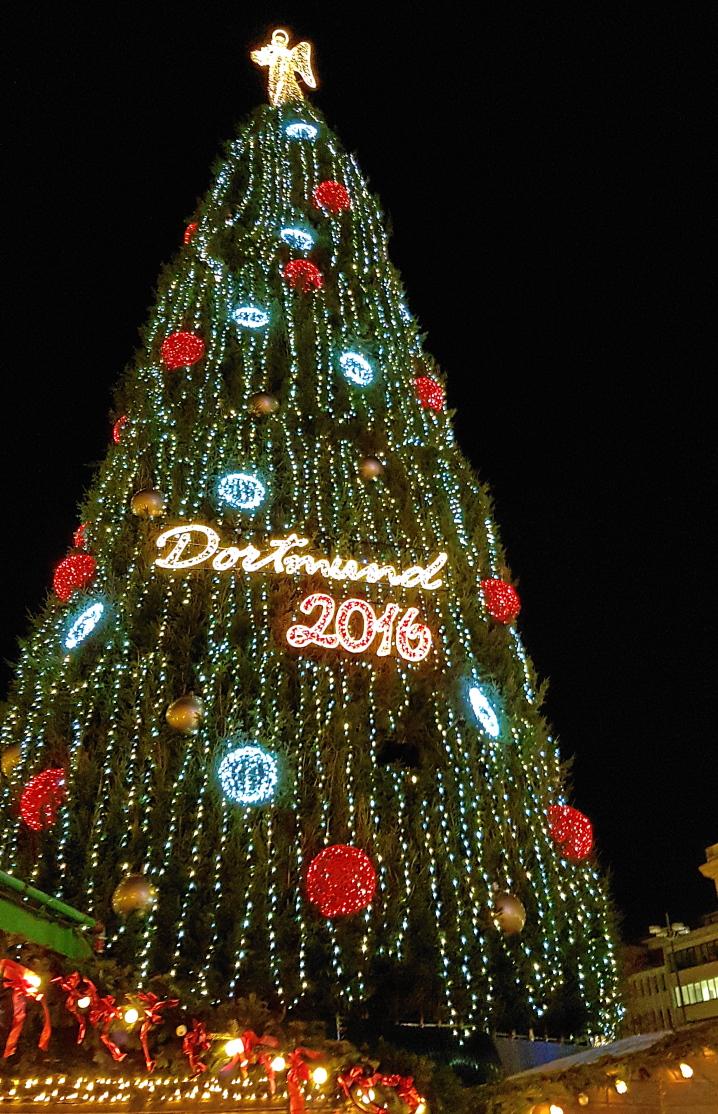 Weihnachtsbaum Dortmund 2016