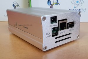 KiwiSDR: SDR Empfänger 0-30 MHz mit Webinterface im Metallgehäuse