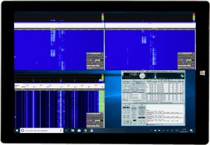 KiwiSDR: SDR Empfänger 0-30 MHz mit Webinterface, Surface, Pro3
