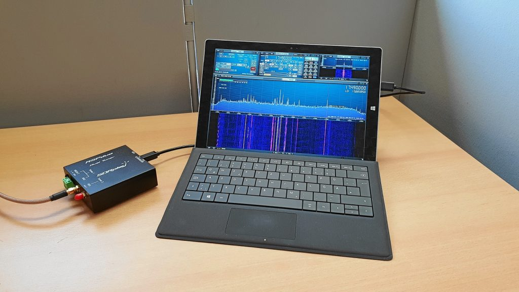 SDRPlay RSPDuo Test mit MegaLoop FX und MegaDipol MD300DX